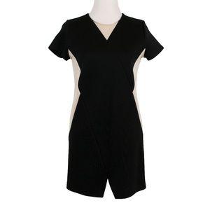 & Other Stories Short Dress Black Cream Size 4